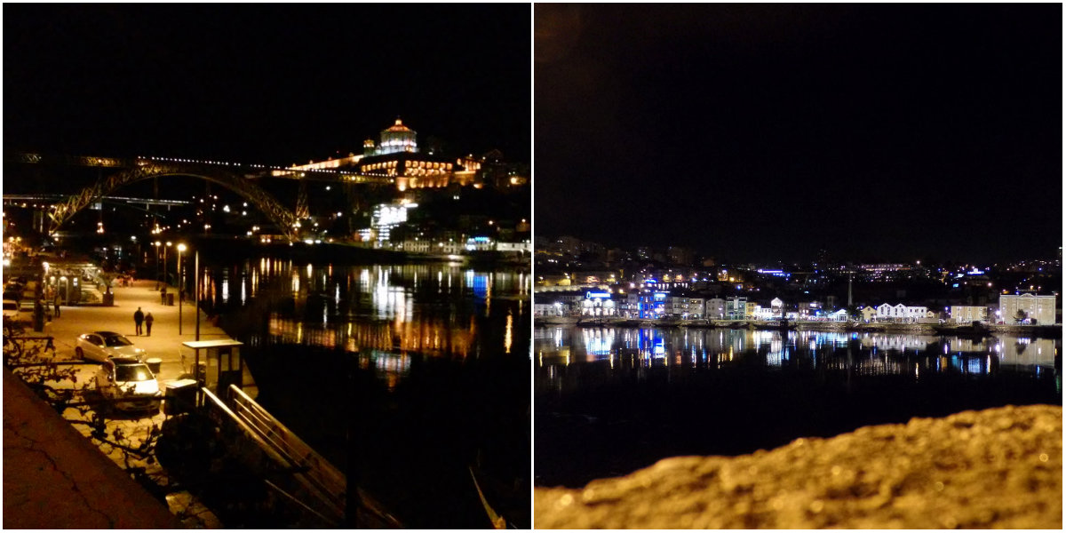 Ribeira at night