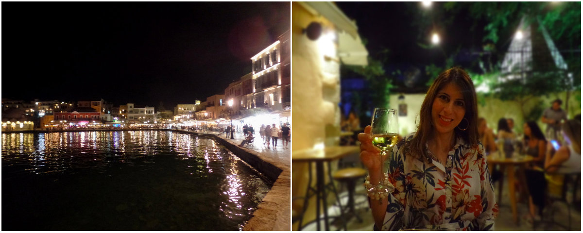 Chania by night
