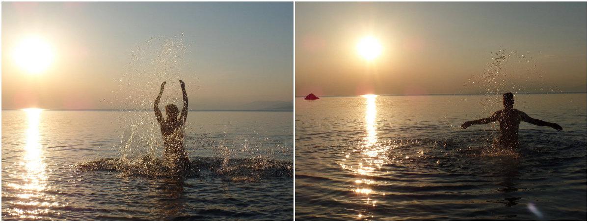 Ηλιοβασίλεμα Σκαλωσιά