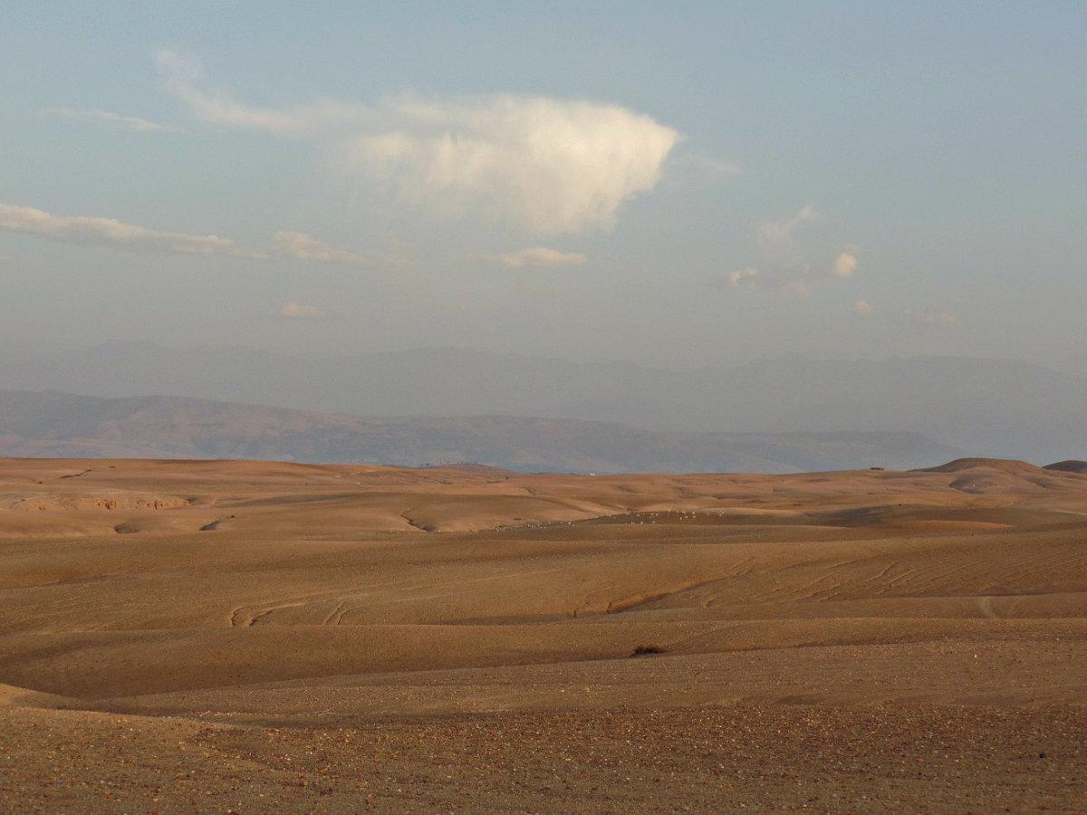 Η έρημος Agafay