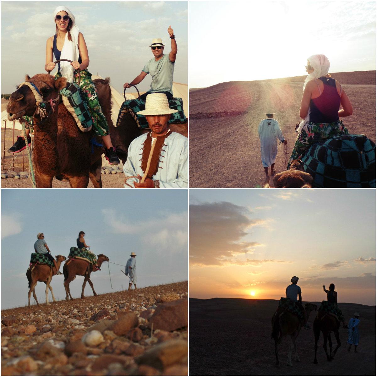 Βόλτα με τις καμήλες