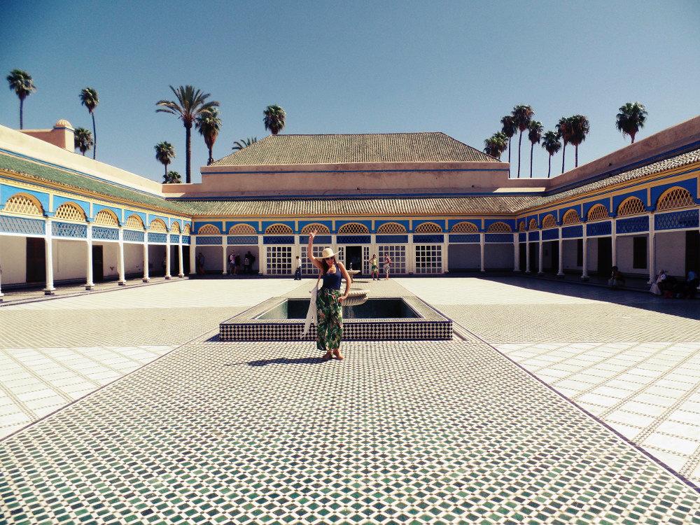 Bahia Palace.
