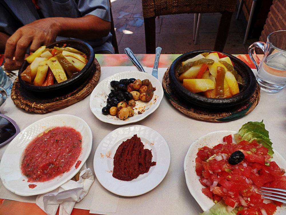 Μαροκινό φαγητό