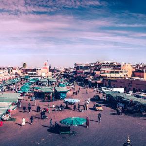 Μαρακές, Μαρόκο.