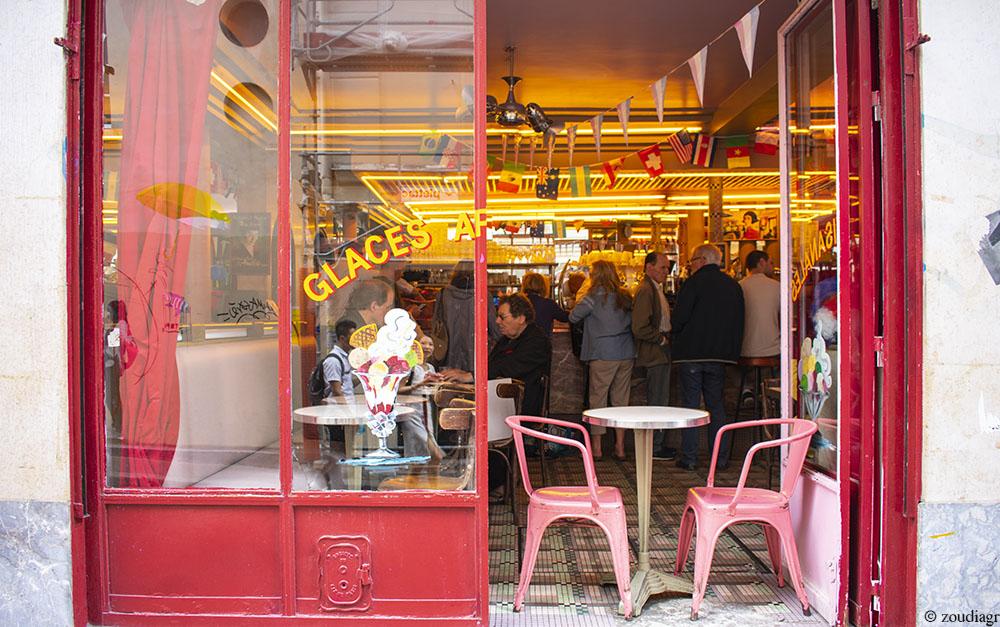 Cafe des Deux Moulins, Μονμάρτη