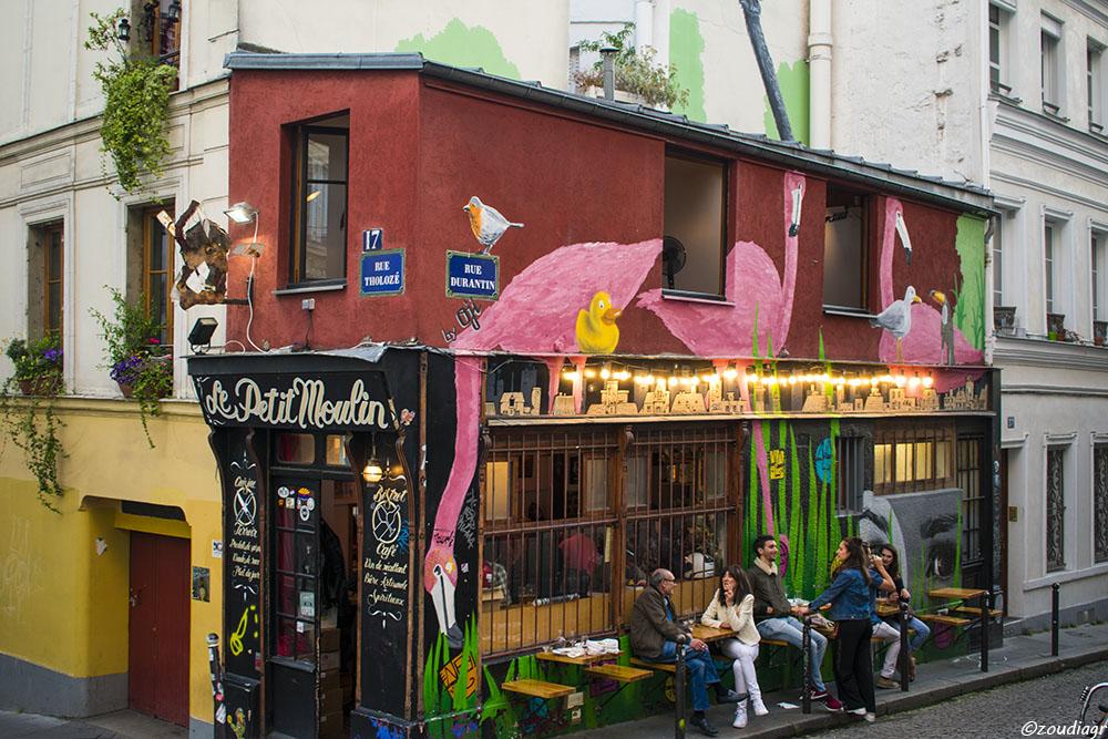 Le Petit Moulin, Μονμάρτη