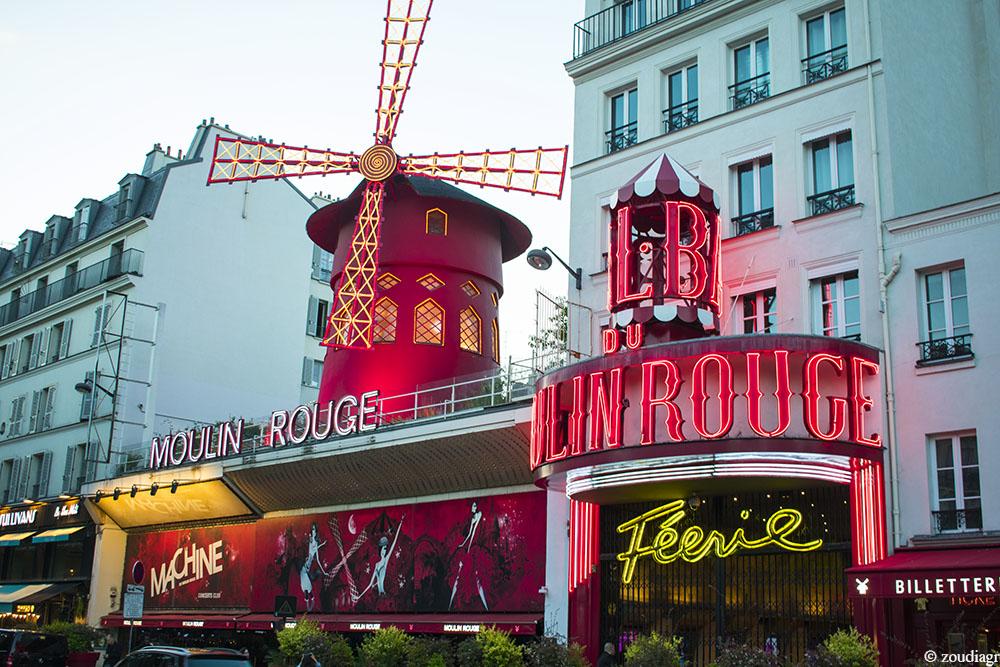 Moulin Rouge, Μονμάρτη