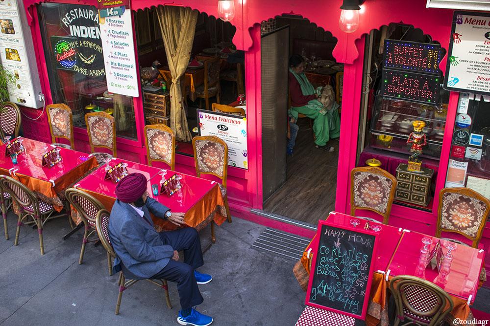 Ινδικό εστιατόριο, Παρίσι