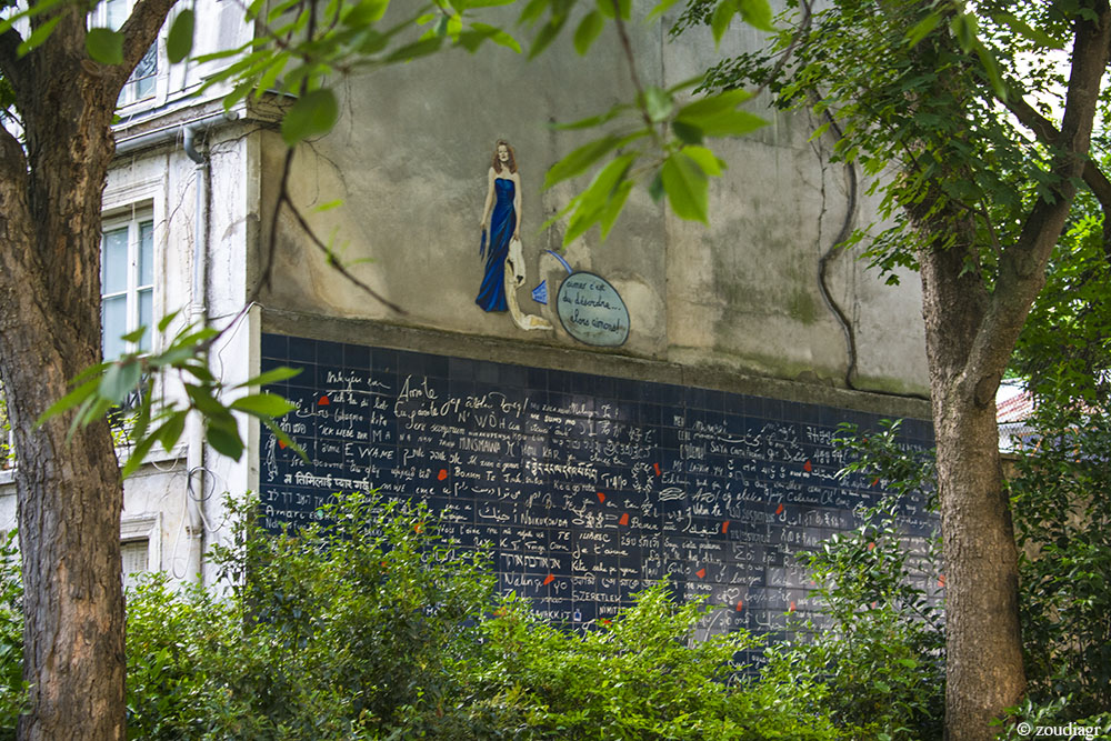 Wall of Love, Μονμάρτη