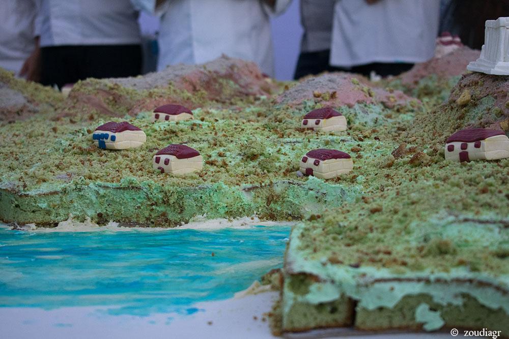 Η Αίγινα σε κέικ