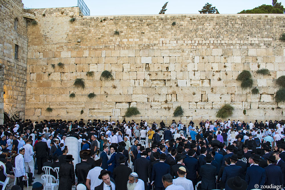 Τείχος των Δακρύων, Shabbat