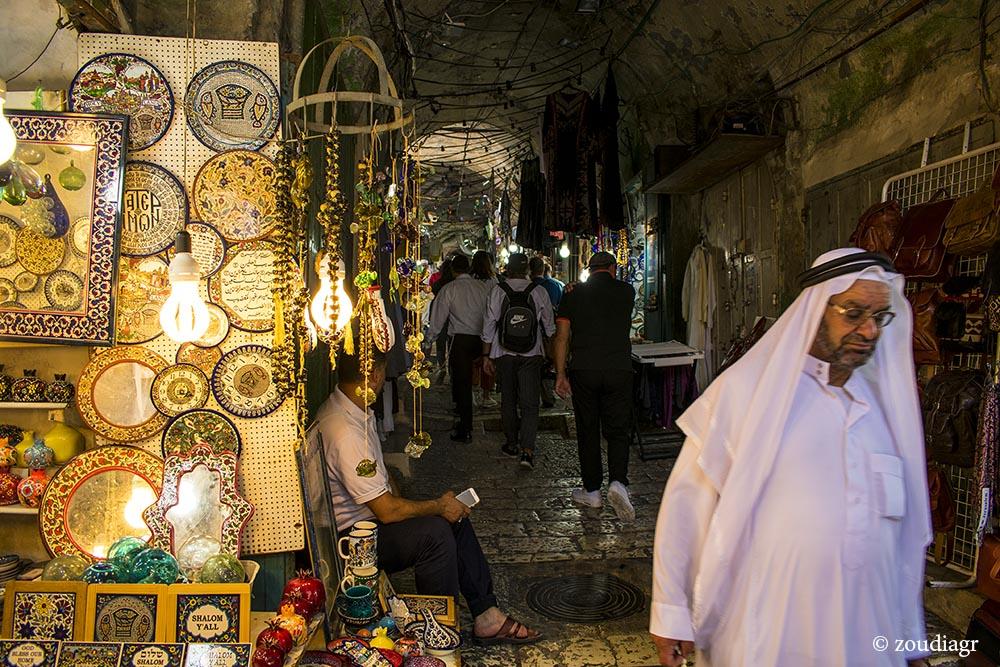 Αγορές στην παλιά πόλη