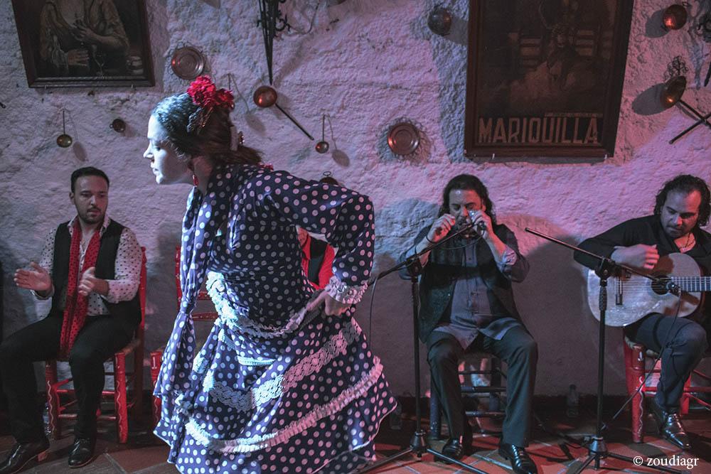 Γρανάδα, flamenco show