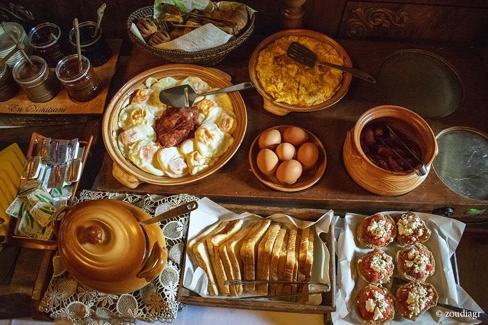 Πρωινό Εν Δημητσάνη