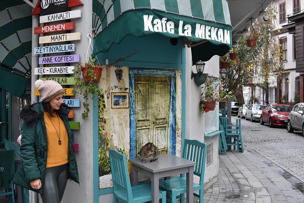 Καφέ στο Kuzguncuk της Κωνσταντινούπολης