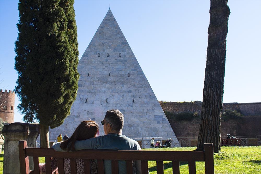 Cestius pyramid