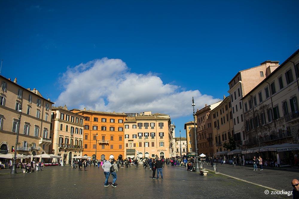 Ιστορικό Κέντρο Ρώμη - γειτονιές