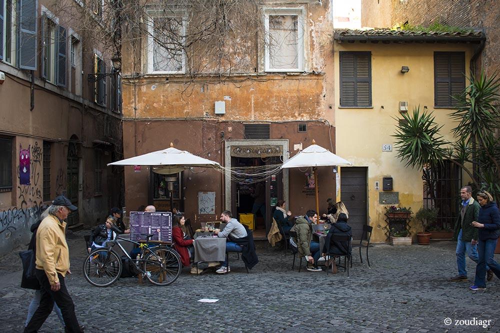 Trastevere, γειτονιές Ρώμη