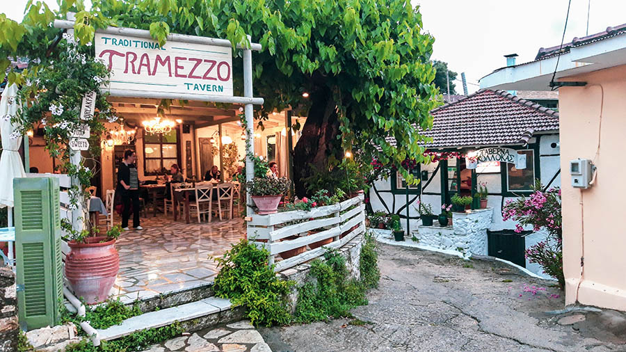 Tramezzo, Κατούνα