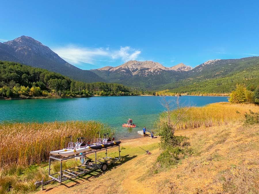 Λίμνη Δόξα ορεινή Κορινθία