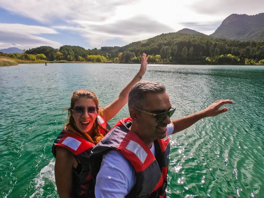 Λίμνη Δόξα υδροποδήλατο